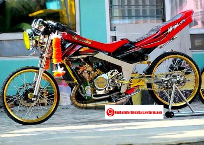 Foto Motor Drag Terbaru Rombakan Kawasaki Ninja Foto Motor Drag